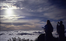 1990 Mt.Gassan : Salutations au nouveau soleil par Shamans, Sylvain sur la droite