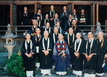 Masters of Shogoin Temple